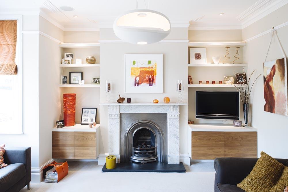 Original Marble Fireplace - S P A C E S