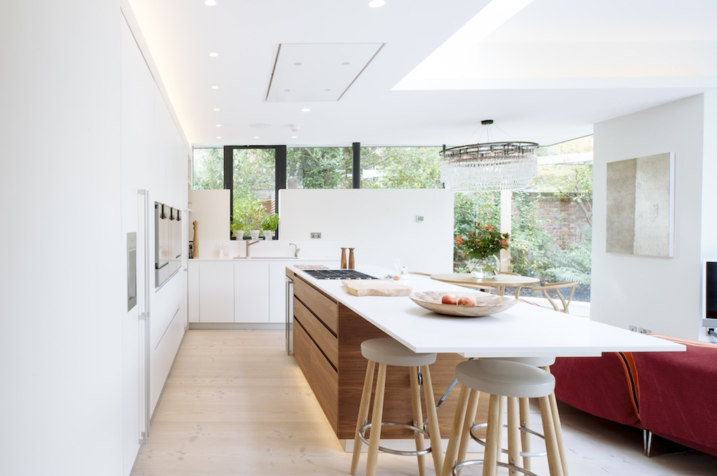 The Octagon Designed Kitchen - S P A C E S